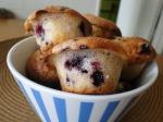 Muffin yoghurt y moras