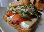 sandwich esparragos