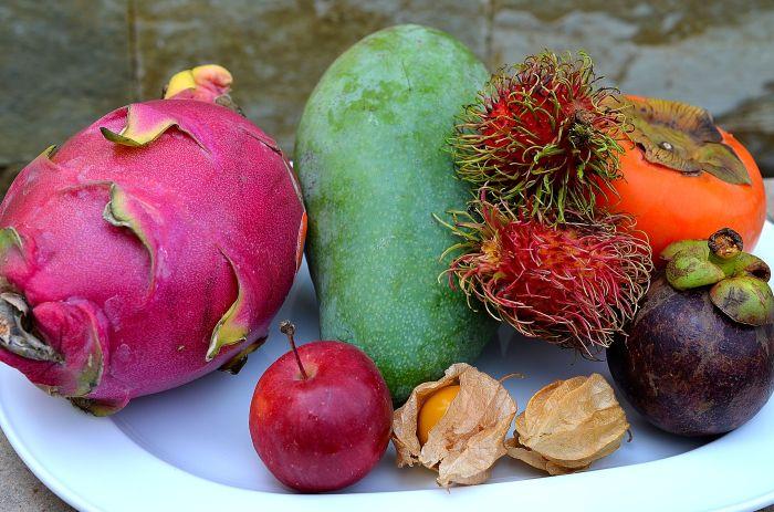 plato frutas