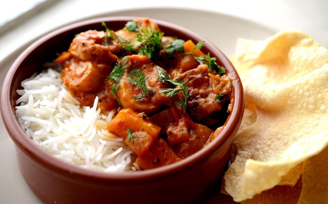 Curry papa y batata