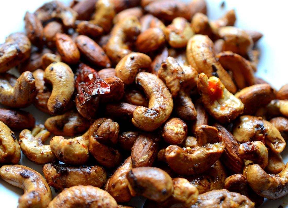 frutos secos con harissa