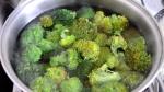 blanqueando brócoli