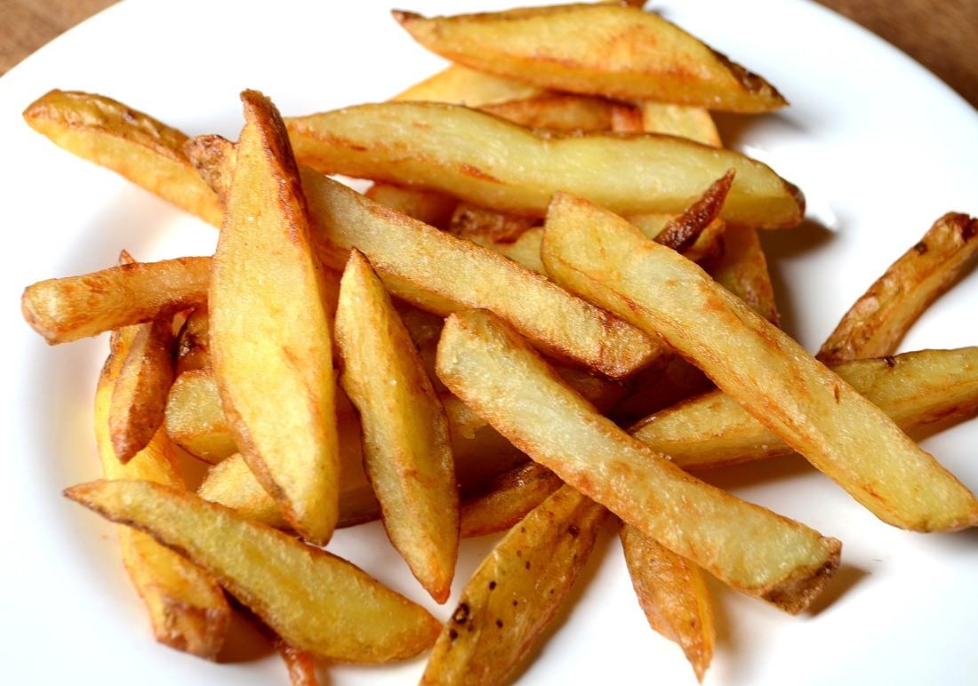 papas fritas hechas